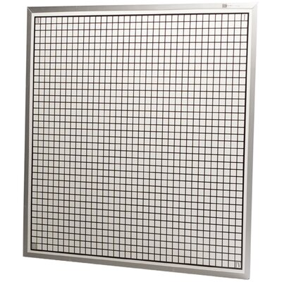 Best-Rite® Rectangular Coordinate - Porcelain Markerboard