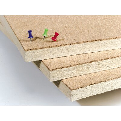 Best-Rite® Natural Cork - Plate Tackboard Series 716 (Framed)