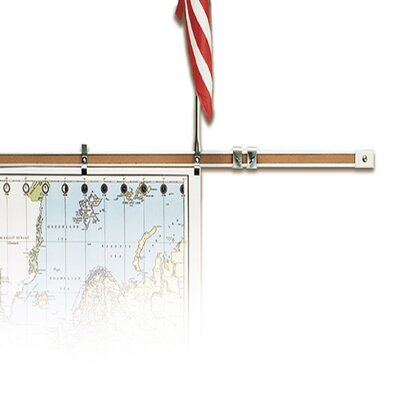 "Best-Rite® 1"" Map Rail and Cork Insert"