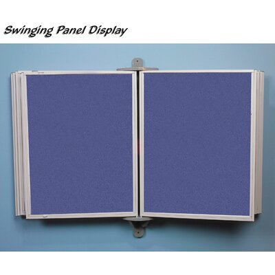 Best-Rite® Full View Swinging Panels w/ White Matboard