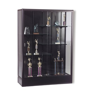 Best-Rite® Series 93 Elite Freestanding Display Case - Without Cornice and Light