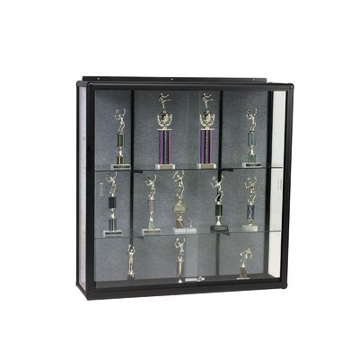 Best-Rite® Elite Wall Mount Display Case - Series 90 - Sliding Door
