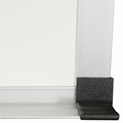 Best-Rite® 4' x 10' Porcelain Steel Markerboard with ABC Trim