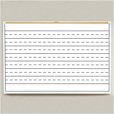 Best-Rite® Porcelain Lifetime Penmanship Line Boards 4' x 6'