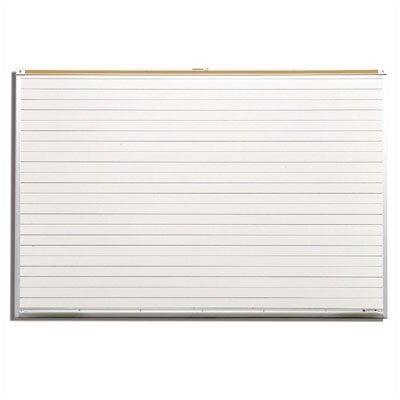 Best-Rite® Porcelain Lifetime Graphic 4' x 8' Whiteboard