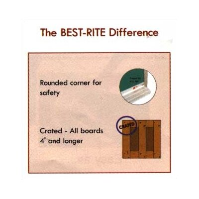 "Best-Rite® Mark-Rite Boards - Wood Trim 2' 9.75"" x 4'"