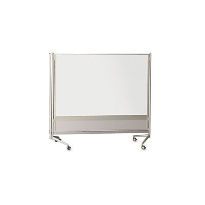 Best-Rite® D.O.C. Mobile Double Sided 6' x 6' Whiteboard