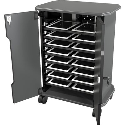 Best-Rite® 16-Compartment Economy Tablet Charging Cart