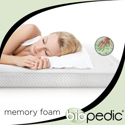 "BioPEDIC Extreme Luxury 3"" Memory Foam Topper"