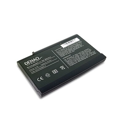 Denaq 8-Cell 5200mAh Lithium Battery for TOSHIBA Satellite 1200 / 3000 Laptops