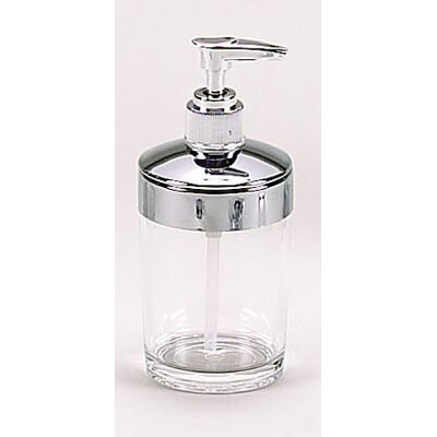 Clear acrylic bath accessories with chrome trim collection for Bathroom accessories acrylic