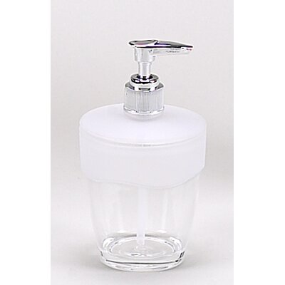 Clear acrylic bath accessories with frost trim collection for Bathroom accessories acrylic