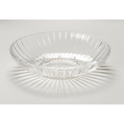 Carnation Home Fashions Acrylic Ribbed Soap Dish