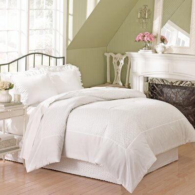 United Curtain Co. Vienna Eyelet Bedding Collection