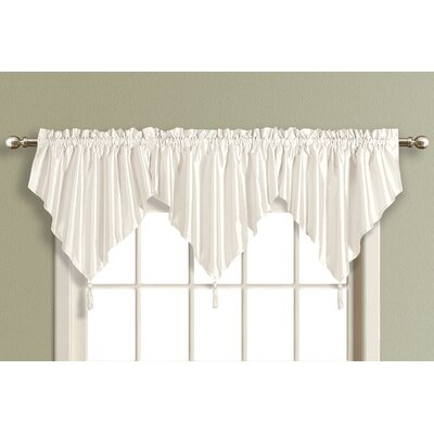 United Curtain Co. Anna Ascot Curtain Valance