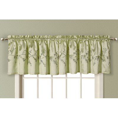 "United Curtain Co. Addison 52"" Curtain Valance"
