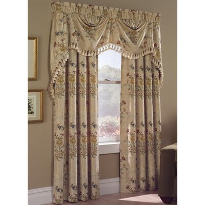 United Curtain Co. Jewel Panel and Austrian Window Treatment Collection