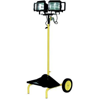 TPI Tpi Corp. - Quartz Halogen Portable Utility Lights Quartz Halogen Cart Light: 737-C-Qh-2 - 479882 quartz halogen utility light(2light&cart)