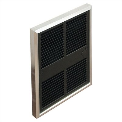 TPI Commercial Single - Pole 7,680 BTU ( 240v ) Fan Forced Wall Heater w/ Selectable Wattages