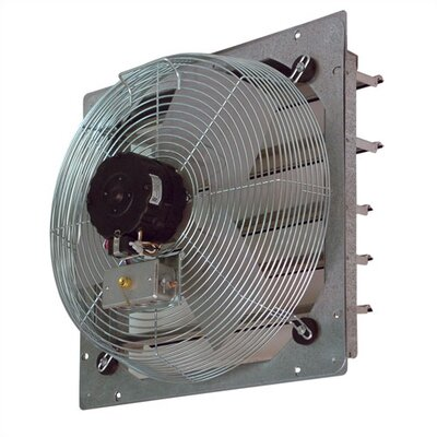 "TPI 12"" Shutter Mounted Direct Drive Exhaust  Fan"