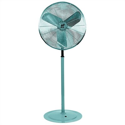 "TPI 30"" Pedestal Mounted Industrial Circulator Fan with 1/4 HP Motor"