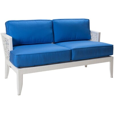 David Francis Furniture Mykonos Loveseat with Cushions