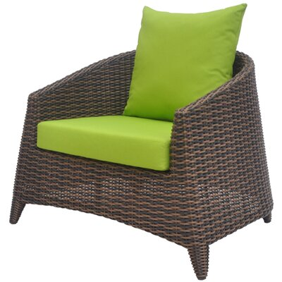 David Francis Furniture Rio Deep Seating Chair with Cushions