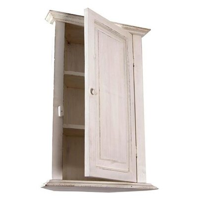 Papa Theo Corner Cabinet with Plain Door