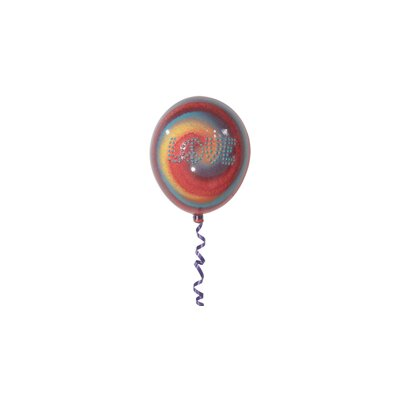 Girly Chic Small Tie Dye Permanent Wall LOVE Balloon