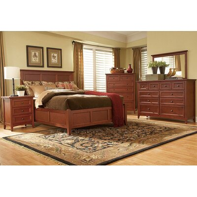 Mastercraft Collections Simply Shaker Panel Bed