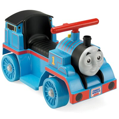 Fisher-Price Power Wheels Thomas Toddler 6V Battery Powered Train