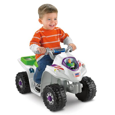 Fisher-Price Power Wheels Toy Story Lil Quad 6V Battery Powered ATV