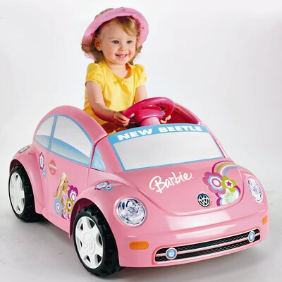 Fisher-Price Power Wheels Barbie™ Volkswagen® Beetle 6V Battery Powered Car