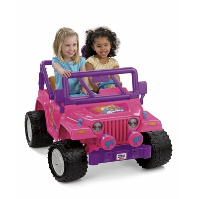 Fisher-Price Power Wheels Barbie Jammin Jeep