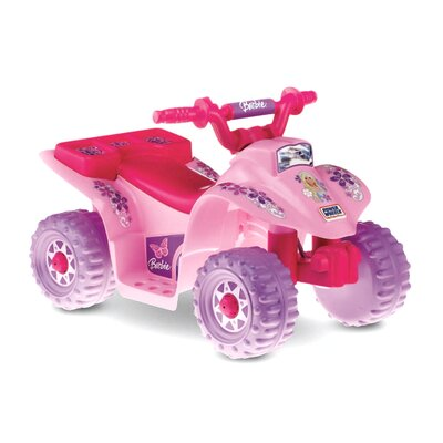 Fisher-Price Barbie Lil Quad 6V Battery Powered ATV