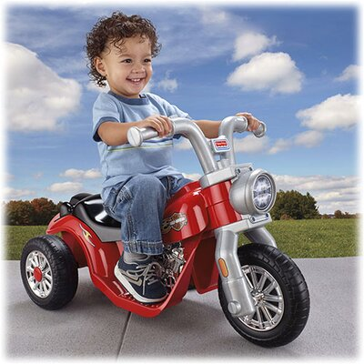 Fisher-Price Power Wheels Harley-Davidson 6V Battery Powered Motorcycle