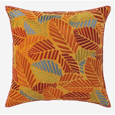 Elm Leaves Velvet Pillow
