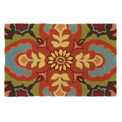 Talavera Tile Chocolate Rug