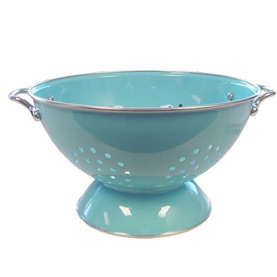 Reston Lloyd Calypso Basics 3 Quart Colander in Turquoise