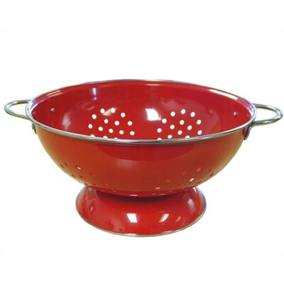 Reston Lloyd Calypso Basics 7 Quart Colander in Red