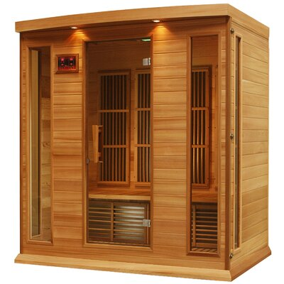 Maxxus 4 Person Carbon FAR Infrared Sauna