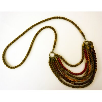 Ayana Jewelry Rachel Paula Fall Silk Rope Necklace