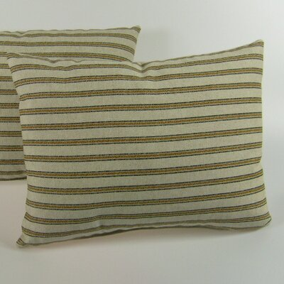 American Mills Gardening Stripe Pillow (Set of 2)