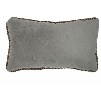 Mohair Multi Braid Trim Pillow (Set of 2)