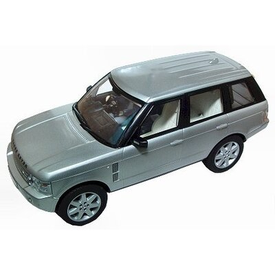Scalextric Range Rover Slot Car in Silver