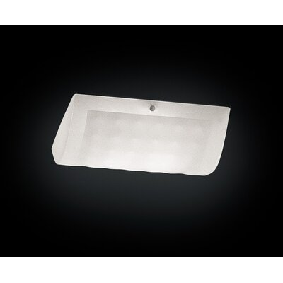Leucos Soft Wall/Ceiling Light in White by Mauro Marzollo