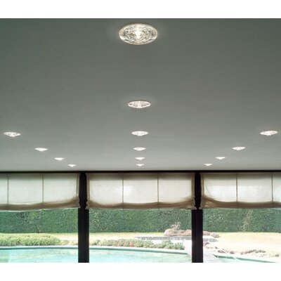 Leucos Polar Low Voltage Recessed Lighting with Housing