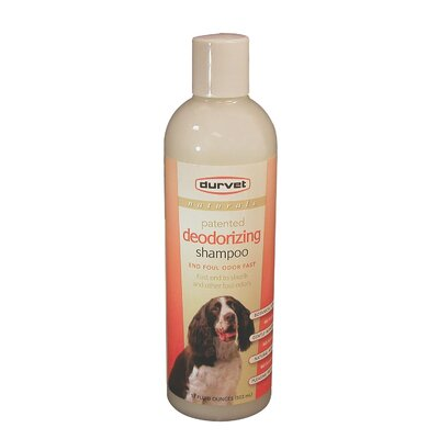 Durvet Naturals Deodorizing Dog Shampoo in Orange - 17 oz.