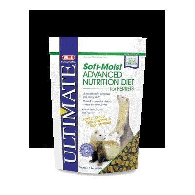 ecotrition Ferret Diet Soft Moist Food - 1.5 lbs