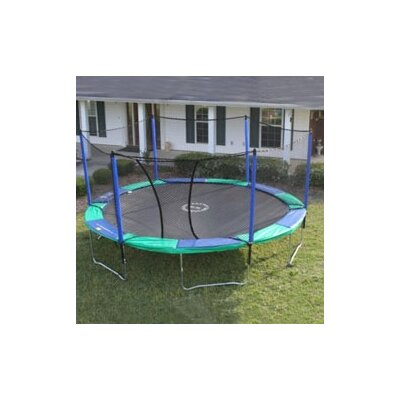 16' Round Trampoline with Enclosure